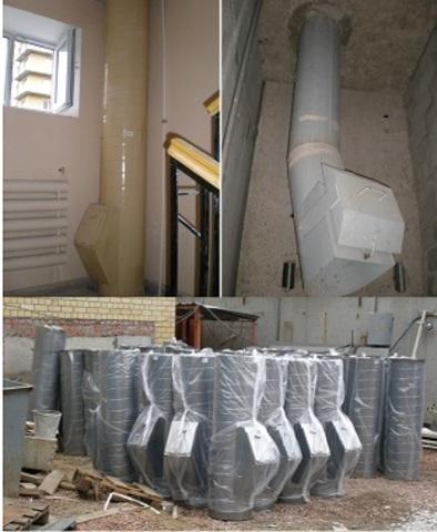 Изготовление и монтаж мусоропроводов для зданий