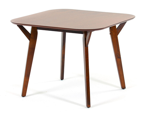 Квадратный обеденный стол Terong из массива гевеи