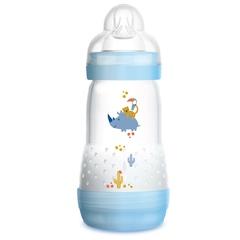 Антиколиковая бутылочка MAM 260мл, возраст 2+, голубой