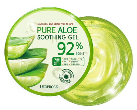 DEOPROCE BODY Гель для тела алоэ 95% DEOPROCE PURE ALOE SOOTHING GEL 95% 300ml (w/ case) 300мл
