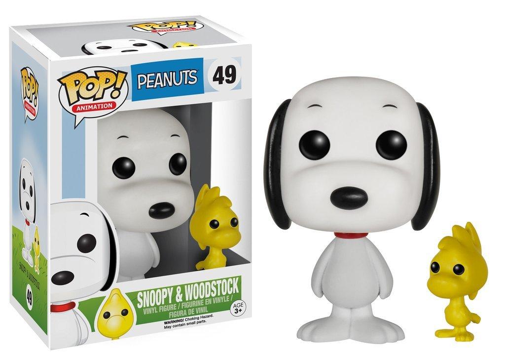 Фигурка Funko POP! Vinyl: Peanuts: Snoopy & Woodstock 3829