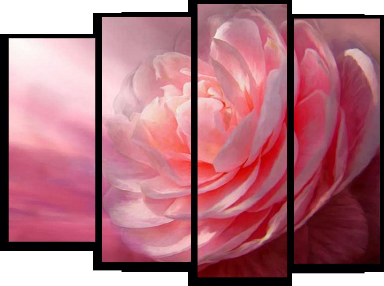 """Цветы Модульная картина""""Волшебный бутон"""" М303.png"""