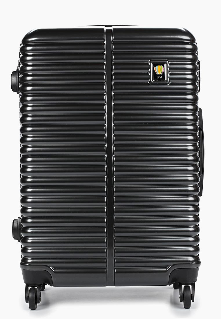 Чемодан SunVoyage SV035-AC121 Торнадо черный (М+)