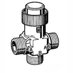 Клапан 3-ходовой зональный Schneider Electric VZ32-G1/2-1,6