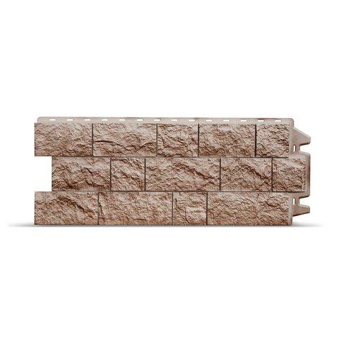Фасадная панель Деке Скала 1052х425 мм Перламутровый