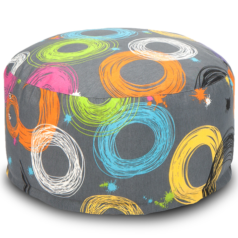 Внешний чехол Кресло-мешок Таблетка  25x50x50, Жаккард Кругос