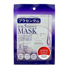 Japan Gals Pure 5 Essence - Маска с плацентой Pure 5 Essence