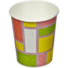 Стакан одноразовый Buffet-Party Смальта бумажный разноцветный 210 мл 6 штук в упаковке