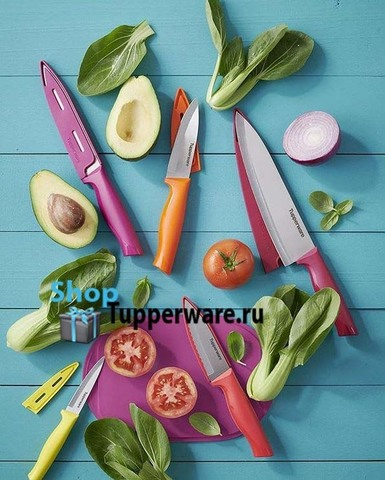 ножи гурман Tupperware