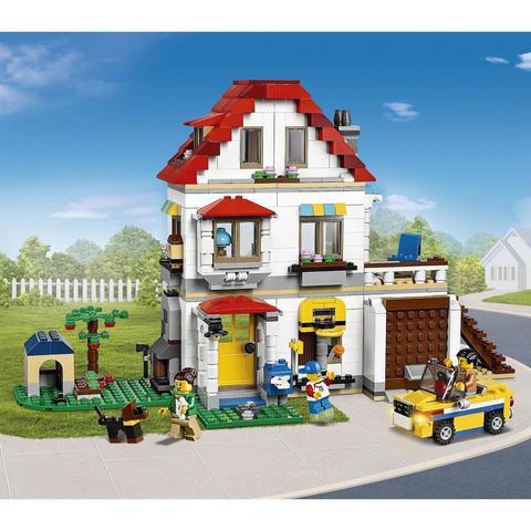 LEGO Creator: Загородный дом 31069 — Modular Family Villa — Лего Креатор Создатель