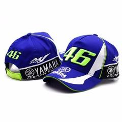 Кепка Ямаха 46 голубая (Бейсболка Yamaha VR-46)