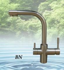 Кран NKD 0212 BN (полированный никель), Райфил