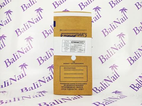 Крафт-пакеты 100х200 (1 шт)