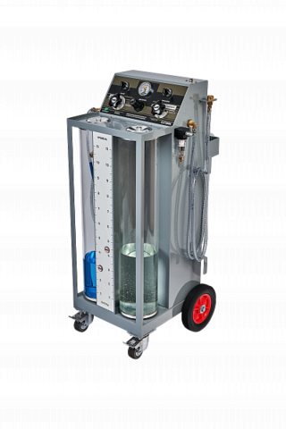 Установка GrunBaum CLT3000 для замены охлаждающей жидкости, с функцией промывки