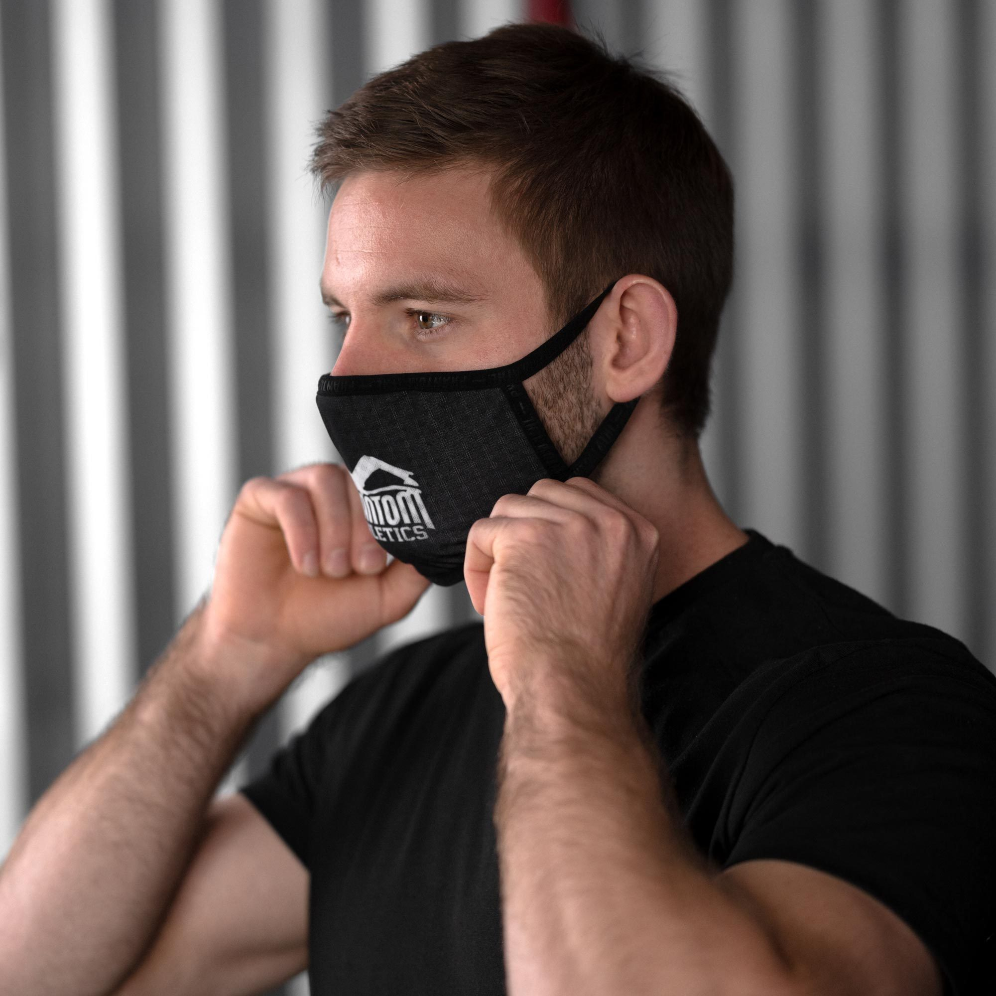 Маска для лица Phantom Athletics Facemask - Black