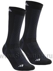 Термоноски утеплённые Craft Warm XC черные (2 пары)