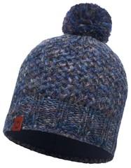 Вязаная шапка с флисовой подкладкой Buff Margo Blue