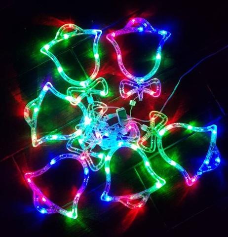 Гирлянда колокольчики LED