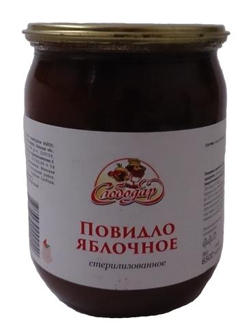Повидло яблочное 650 г. Слободар