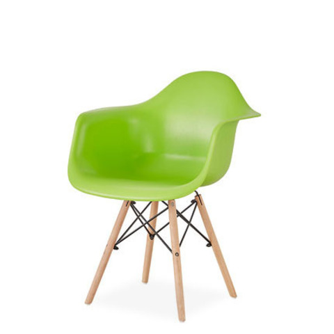 Стул-кресло DAW Eames by Vitra (салатовый)