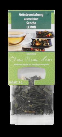 Ароматизированный купаж зеленого чая Сенча Лимон