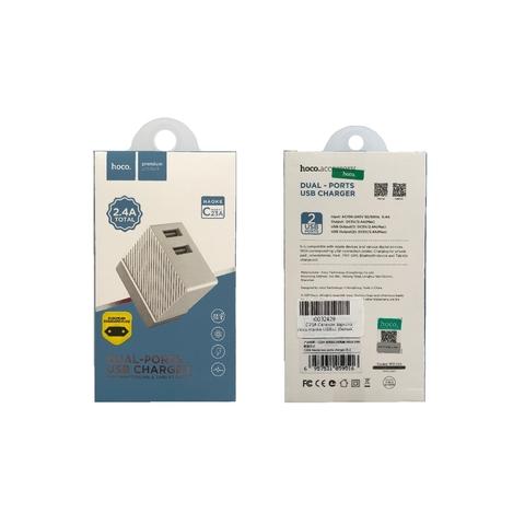 Купить сетевую зарядку Hoco C23A