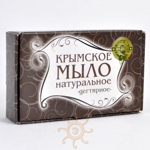 Мыло натуральное Дегтярное Крымское, 85г