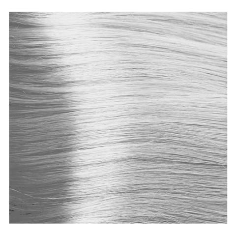 Крем краска для волос с гиалуроновой кислотой Kapous, 100 мл - HY 10.012  Платиновый  блондин прозрачный табачный