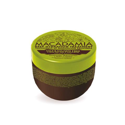 Интенсивно увлажняющая маска для нормальных и поврежденных волос MACADAMIA, 250 гр., Kativa