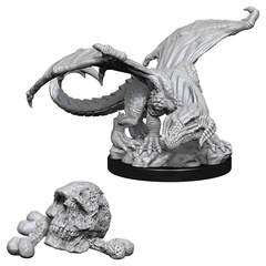 D&D Nolzur's Marvelous Miniatures - Black Dragon Wyrmling