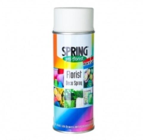 Краска-спрей SPRING (объем:400мл) Цвет: 020, белый мел