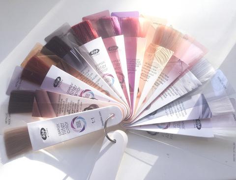 Палитра цветов LISAPLEX FILTER COLOR 12 оттенков