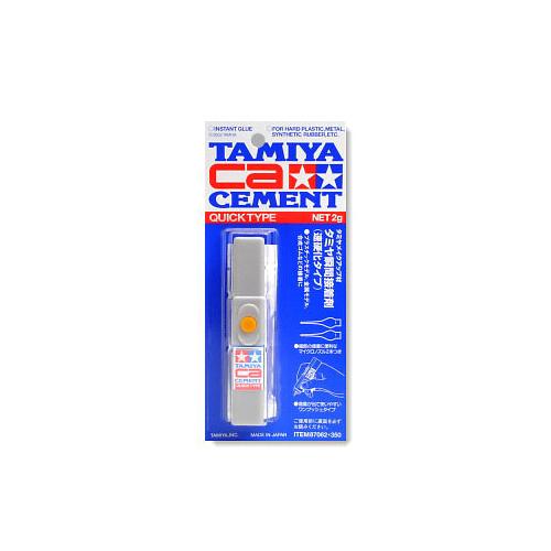 Клеи Tamiya Quick Type Секундный цианоакрилатовый клей, 2 гр. 87062_11.jpg
