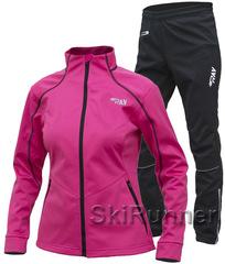 Утеплённый лыжный костюм RAY Race WS Rasberry женский