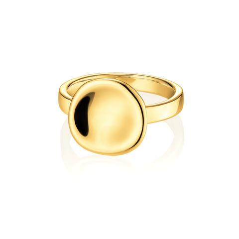 Кольцо UMA позолоченное