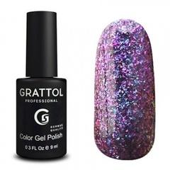 Grattol, Гель-лак Luxury Stones № 002, Ruby, 9 мл