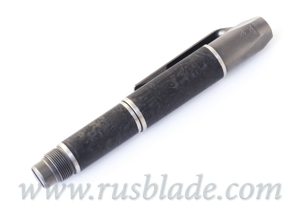 Shirogorov 2020 Pen Screwdriver Custom Division Marbled CF
