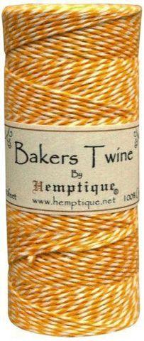 Шпагат Bakers Twine оранжевый