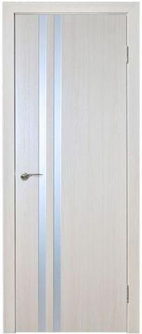 Дверь Вита (ясень, глухая ПВХ), фабрика Новый Стиль