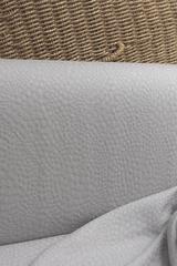 Бамбуковый жаккард, цвет ЖЕМЧУГ рисунок КАПЕЛЬКИ