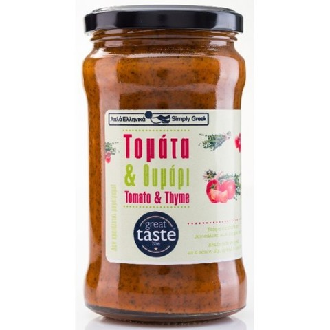 Соус из томатов и тимьяна Simply Greek 280 гр.