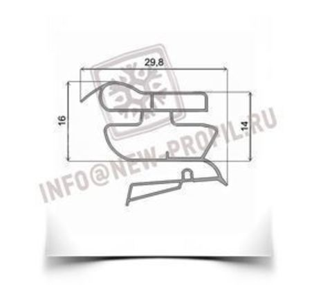 Уплотнитель для холодильника Electrolux ERB34090W(Х) х.к. 990*570 мм 022(АНАЛОГ)