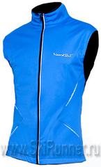 Лыжный жилет Nordski Premium Blue/Black