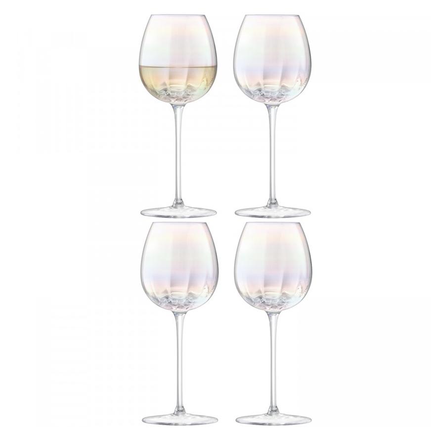 Набор из 4 бокалов для белого вина «Pearl», 325 мл