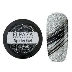 Гель-краска ELPAZA Spider Black (Паутинка) (черный) 5гр