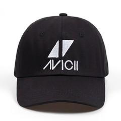 Кепка AVICII (Бейсболка Aвичи) черная