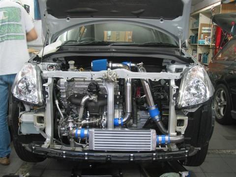 Турбо кит на Suzuki SWIFT 04-ON M15A/M13A Turbocharger Suzuki SWIFT 04-ON M15A/M13A Turbo Kit турбо