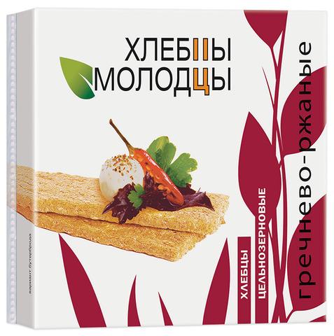 """Хлебцы """"Молодцы"""" гречнево-ржаные с провитамином А 110г"""