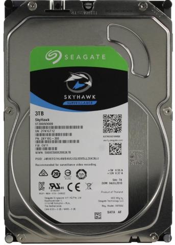 Жесткий диск Seagate SkyHawk [ST3000VX009] 3 ТБ