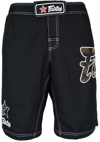 Шорты Fairtex Boardshorts AB5 Black/Camo